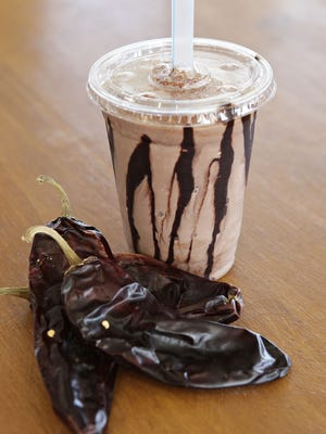 The chocolate and chile milk shake at The Stand, in Arcadia.