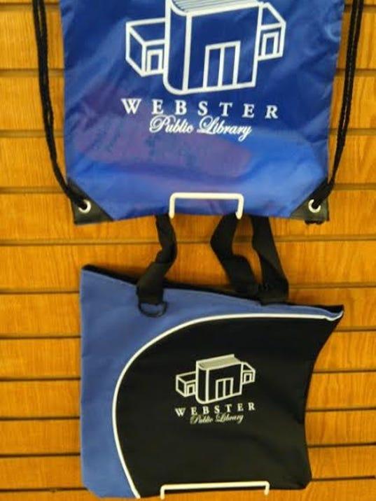 WPL new patron book bag