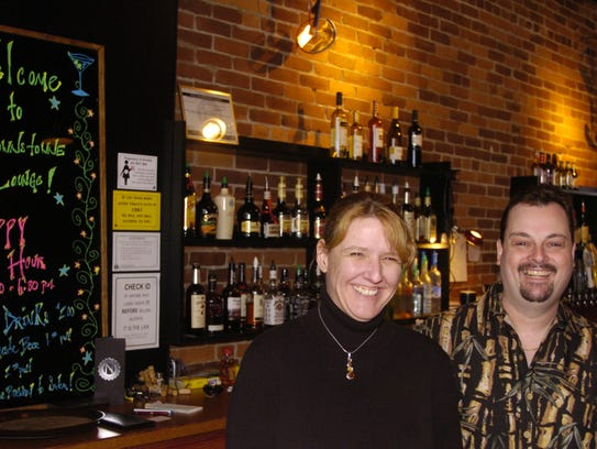 Dee and Gary Brown, owners of Brown's Towne Lounge,