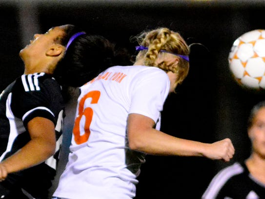 Girls' soccer produces more concussions than boys'