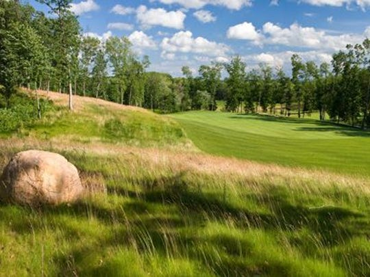 Designed by Michael Hurdzan and Dana Fry while they were working at Erin Hills, Wild Rock in the Wisconsin Dells opened in 2008 and is as good as any resort course you'll play.