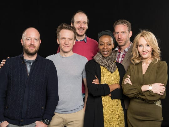 The 'Harry Potter and the Cursed Child' team: front