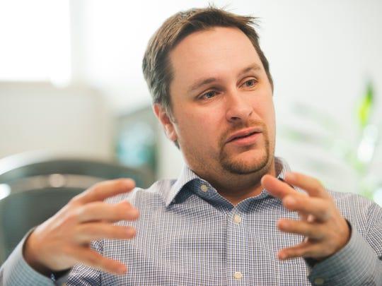 Rick Gibbs, former CEO of Dealer.com, talks in the