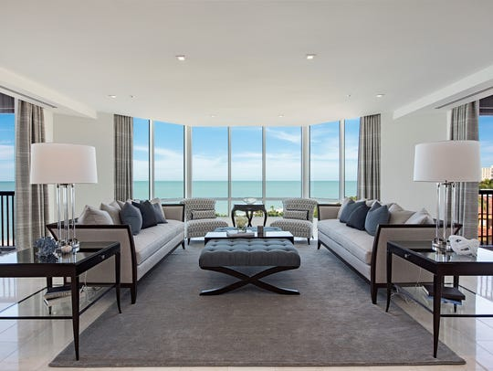 A Gulfside Naples condo at 8477 Bay Colony Drive sold