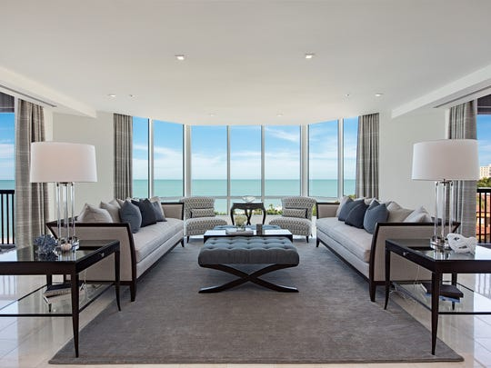 A Gulfside Naples condo at 8477 Bay Colony Drive sold for $10,200,000 in 2016, making it one of the top 10 Collier home sales of the year.