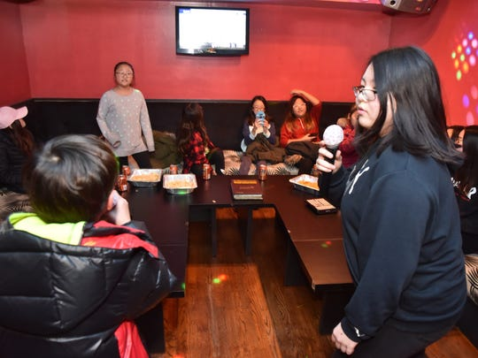 The first Korean karaoke businesses opened in North