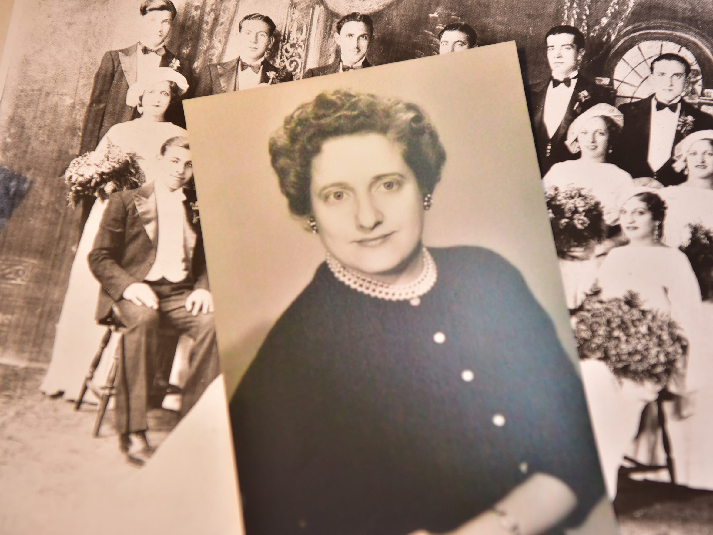 Bob MacNishes' mother, Jean.