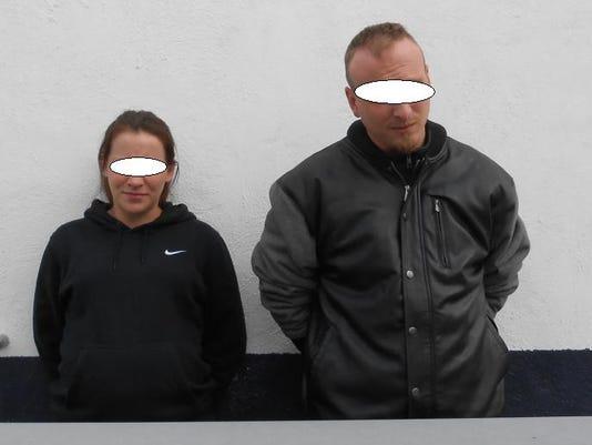 U.S. couple arrested
