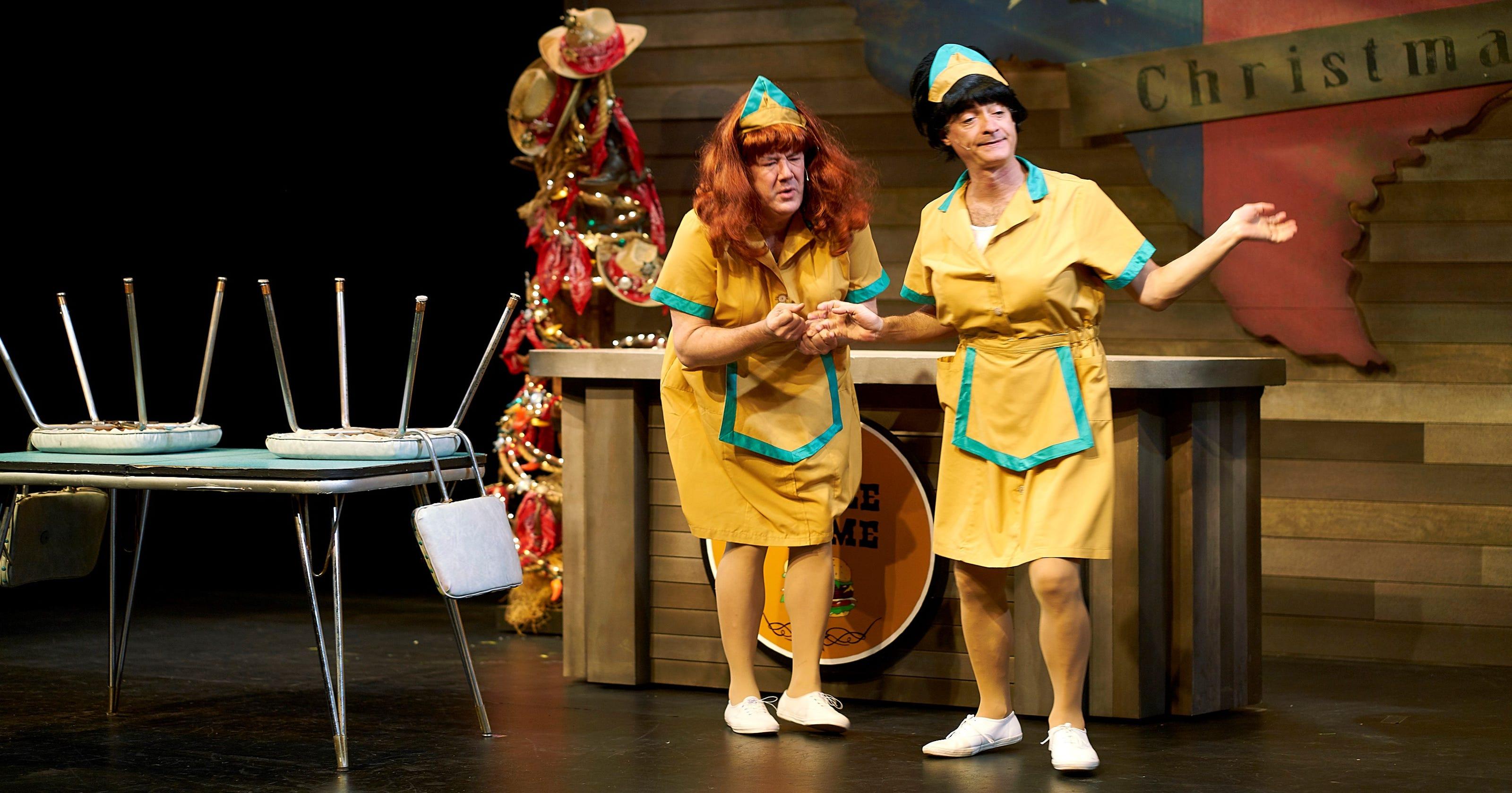 A Tuna Christmas.Theater Review A Tuna Christmas At Flat Rock Playhouse