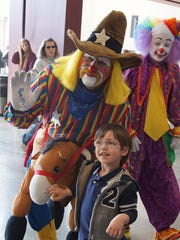 Kids can meet a clown, ride an elephant or camel and
