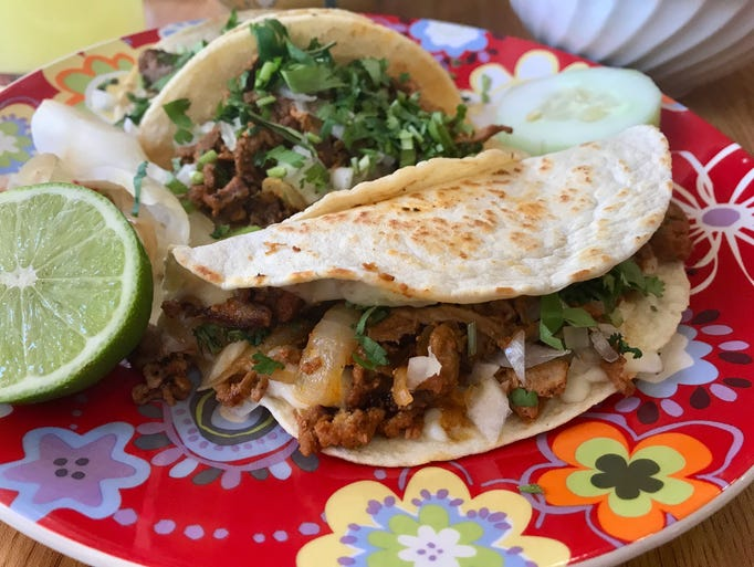 A rave-worthy quesadilla from Tacos San Miguel II in