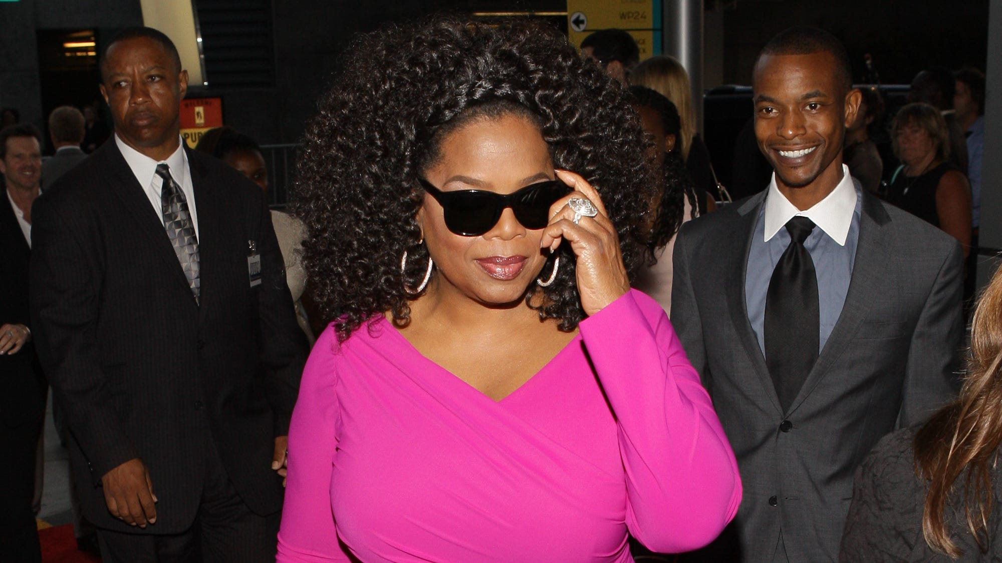 Although she is the queen of just about everything, Oprah Winfrey is not a fixture on the red carpet scene. But, lately she's been hitting the promo trail hard in support of 'Lee Daniels' The Butler,' her first movie role in 15 years. USA TODAY's Arienne Thompson checks out Oprah's best 'Butler' looks.