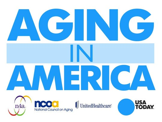 Aging in America Sign promo art