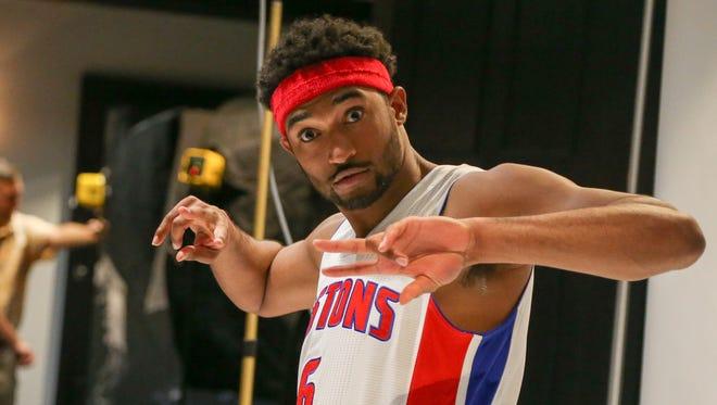 Pistons guard Darrun Hilliard