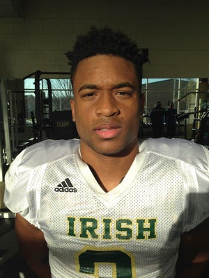 Amari Rodgers, Knoxville Catholic High School wide receiver.