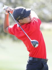 John Kim of Palm Desert High School participates in