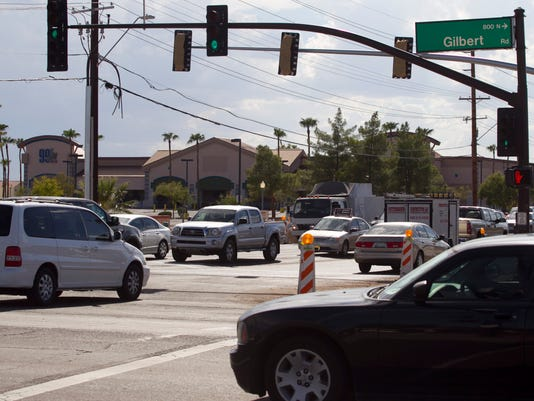 Gilbert and Guadalupe roads