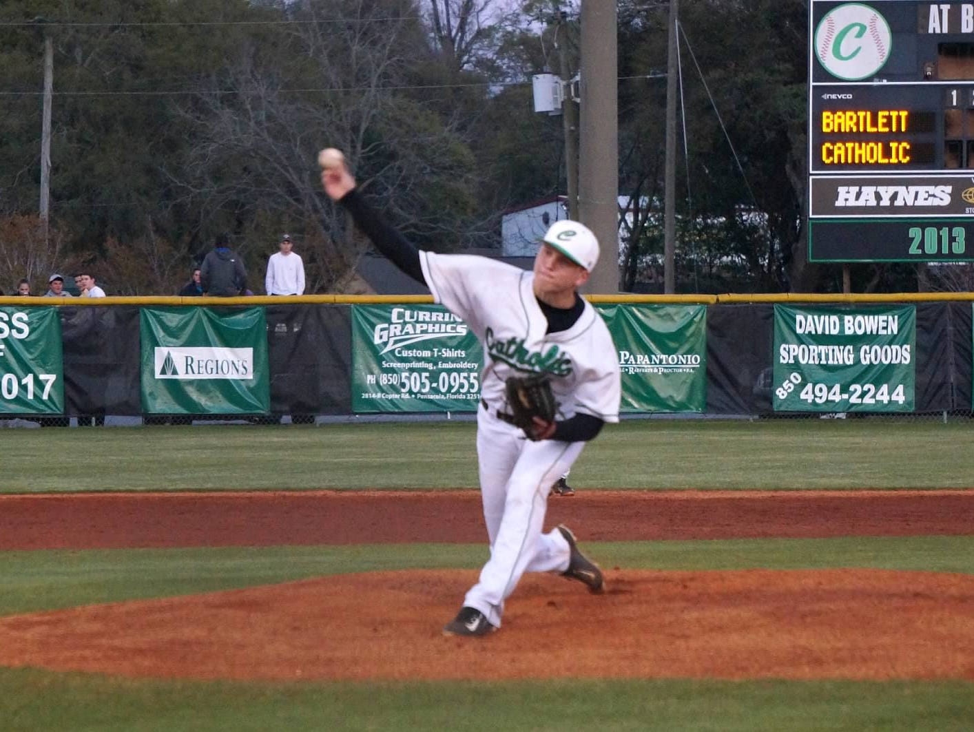 Catholic High pitcher Evan Floyd was recently named Rawlings/Perfect Game All-American.