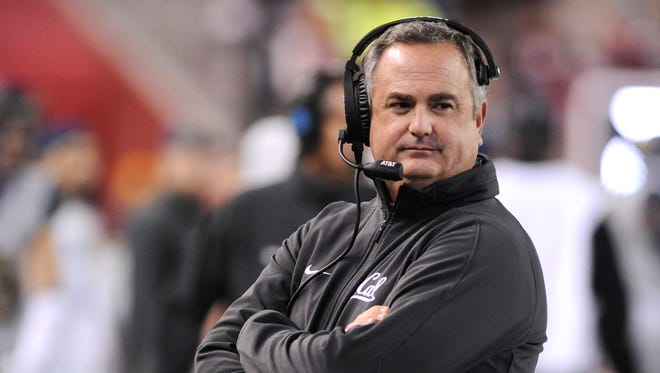 Arizona State's search for a new offensive coordinator continues, but the job will not go to former California head coach Sonny Dykes.
