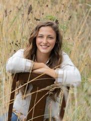 Ellie Hahn, Cedar Falls High School class of 2017