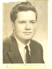 Jim Griffin's 1956 high school graduation picture.