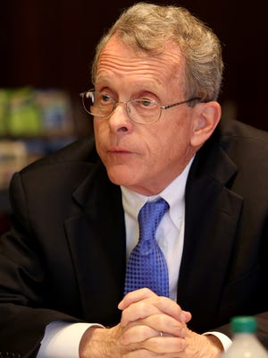 Ohio Attorney General Mike DeWine says identity theft complaints more than doubled from 2013 to 2014.