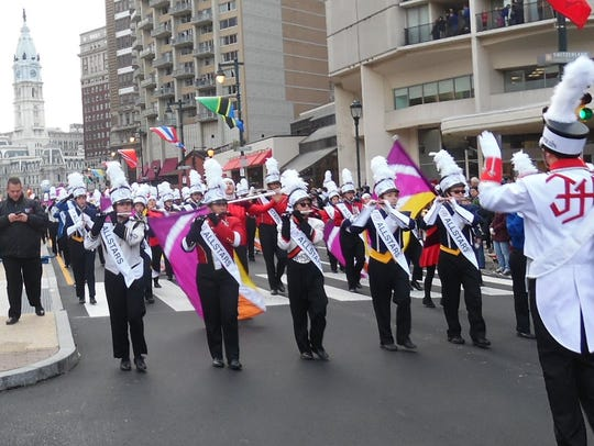 Tournament of Bands All Star Marching Band performs