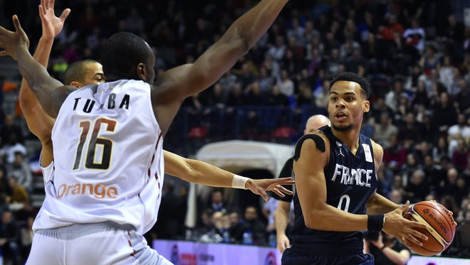 The Suns drafted Elie Okobo in the second round of the 2018 NBA draft.