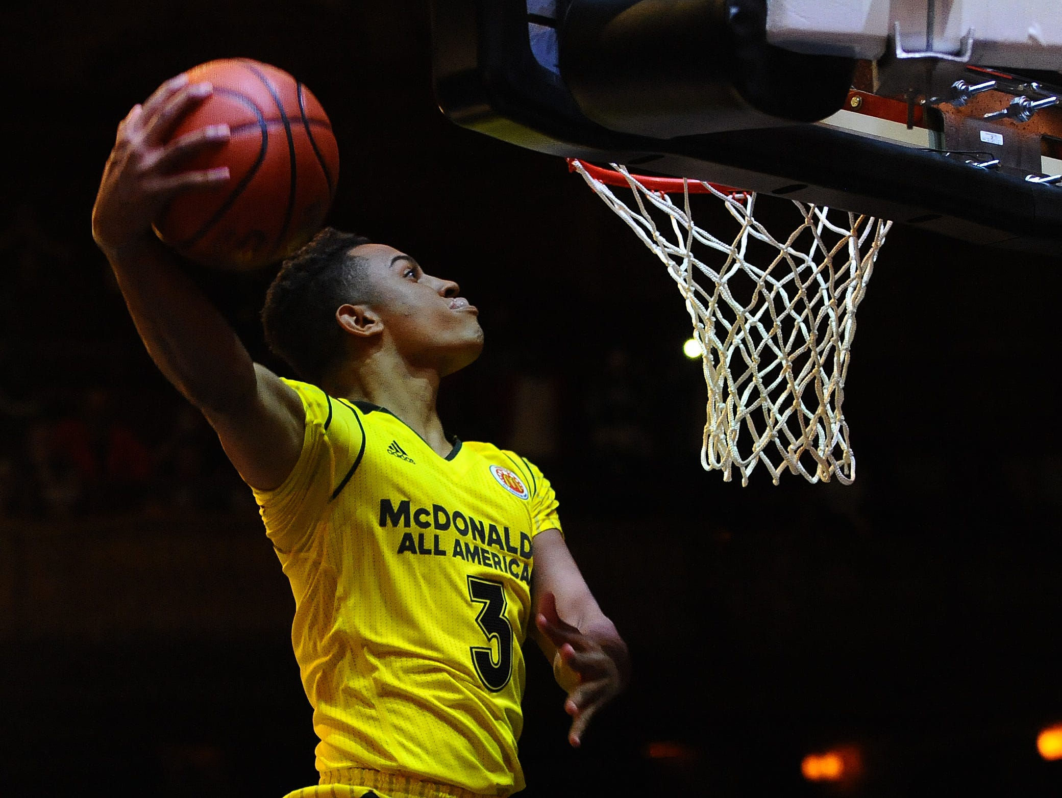 Duke recruit Frank Jackson was the Co-Most Valuable Player of Wednesday night's McDonald's All-American game in Chicago.