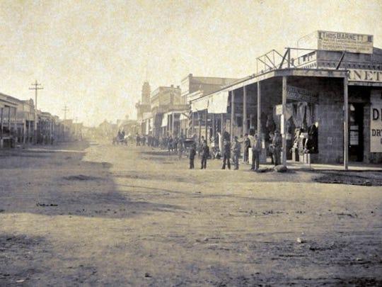 Downtown Reno 1882.