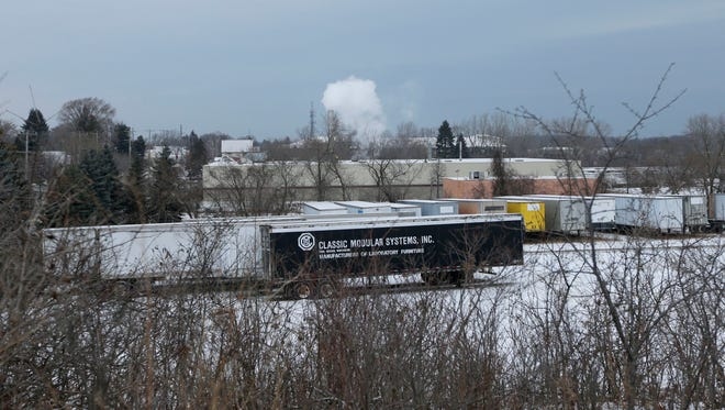 Emissions from a stack near Mid-America Steel Drum in St. Francis where there have been repeated odors complaints.