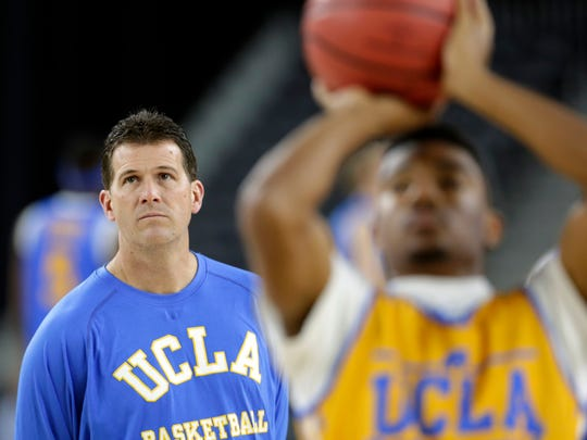 UCLA head coach Steve Alford made some noise in the 2015 NCAA tournament.