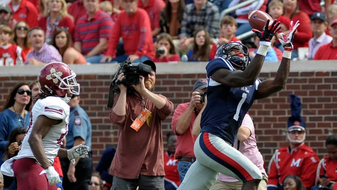Ole Miss has three players who made Mel Kiper Jr.'s most recent Big Board, including wide receiver Laquon Treadwell.