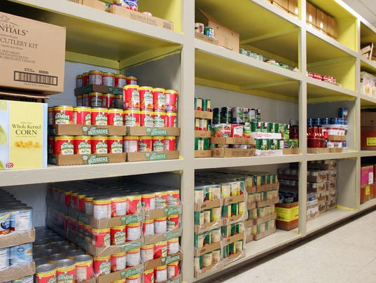 Coshocton Salvation Army food pantry