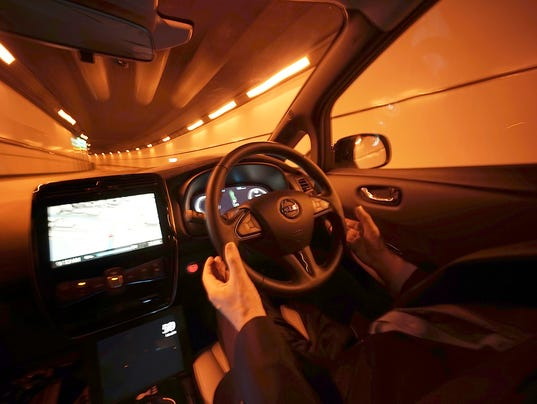 AP SELF-DRIVING CARS-Q&A I A F FILE JPN