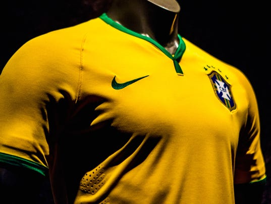 Brazil's National  Soccer Team Unveils New Uniform