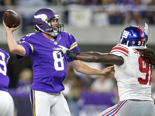 NFL: New York Giants at Minnesota Vikings