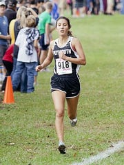 Marina DeBiasi competes for Plymouth during her high school career.