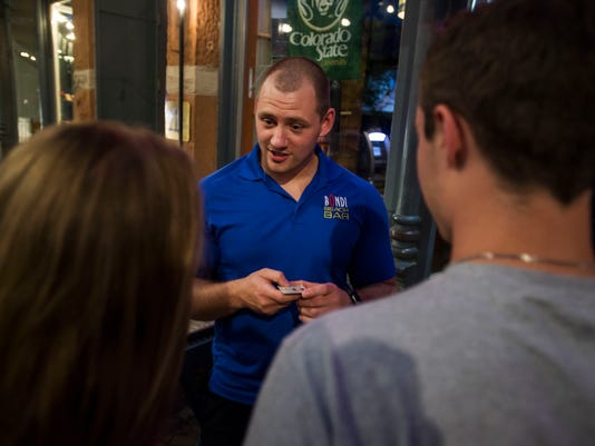 Bondi Beach Bar and Grill security manager Cory Esslinger 2
