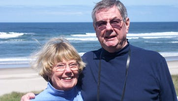 Retired Superior Court Judge Donald Kennedy and his wife, Margaret.