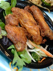 Curried Chicken Wings from Song Long.