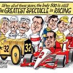 Cartoonist Gary Varvel: Indy 500 legends