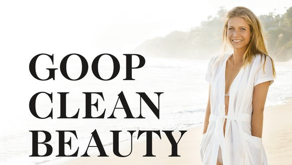 The cover for 'Goop Clean Beauty' with foreword by