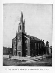 The former St. Paul Methodist Episcopal Church South