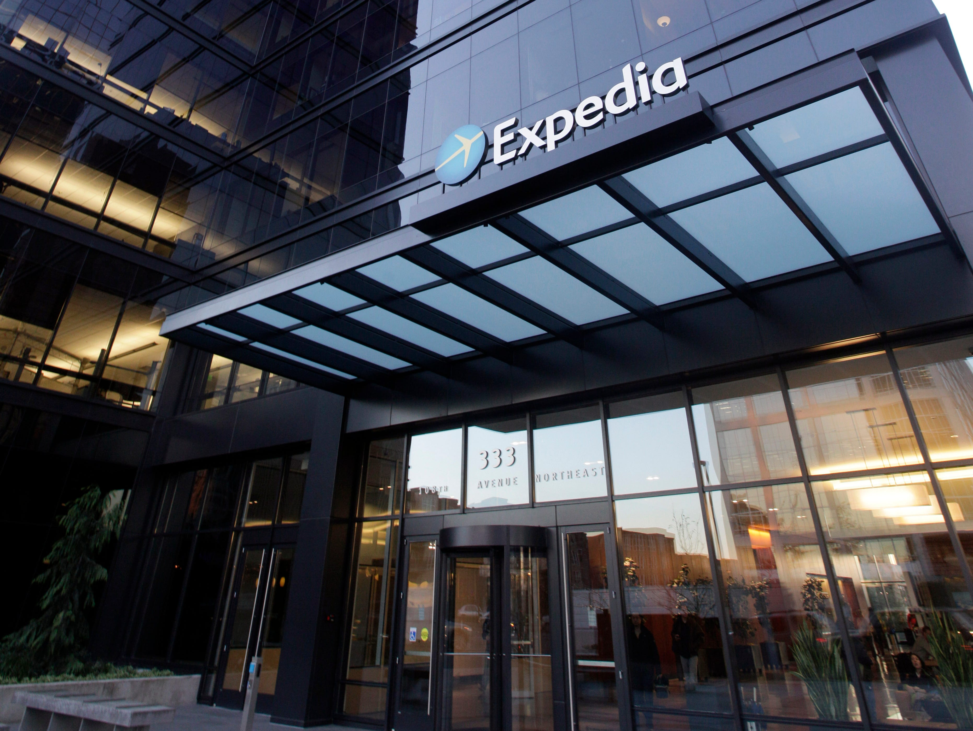 Expedia offices in Bellevue, Wash.