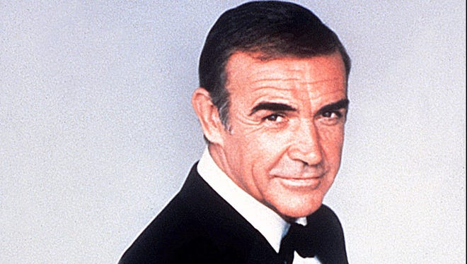 Sean Connery as James Bond in 1983.