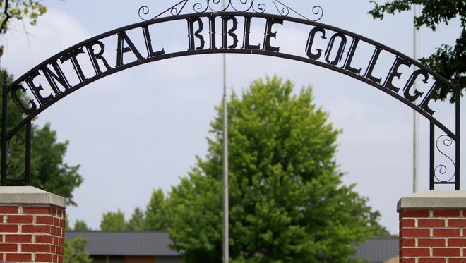The campus of Central Bible College, which was founded in 1922, will be auctioned Oct. 4.