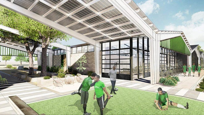 Austin FC has started construction of the $45 million St. David's Performance Center on land off of Parmer Lane, one mile east of Interstate 35. The 23-acre facility will be the Major League Soccer team's training grounds and will feature four full-size soccer fields.