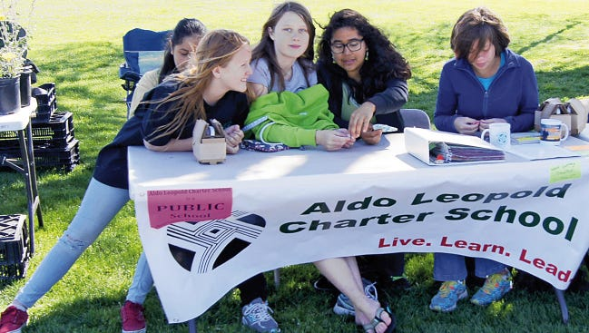 Aldo Leopold Charter School students scored very well on the PARCC Test, according to officials.