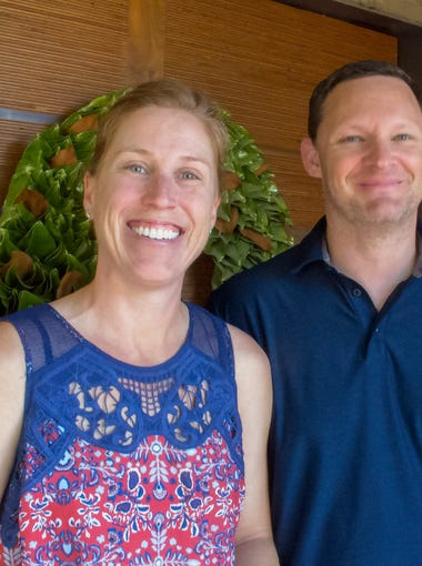 Christine and Stefan Fortman, who have been married for six years, recently moved from a home Christine had purchased many years ago to one in Scottsdale that better blends their disparate decorating styles.